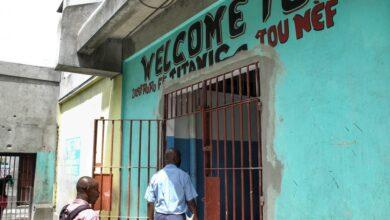 صورة هروب جماعي من سجن في هايتي