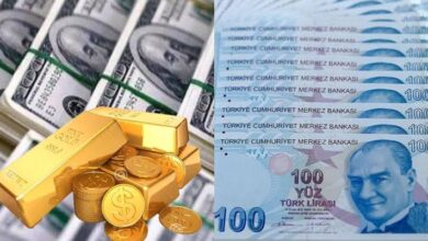 صورة آخر أسعار الذهب وصرف الليرة التركية اليوم الاثنين 19 نيسان