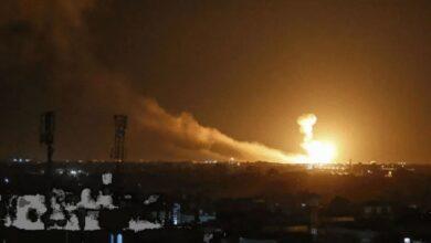 صورة إسرائيل تصرح قصـ.ـفنا 50 هـ.ـدفاً في سوريا.. والأسد نائم