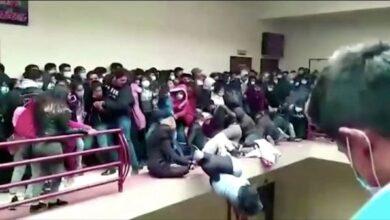 صورة مـ.ـوت 7 طلاب بعد انهـ.ـيار شرفة الجامعة (فيديو)