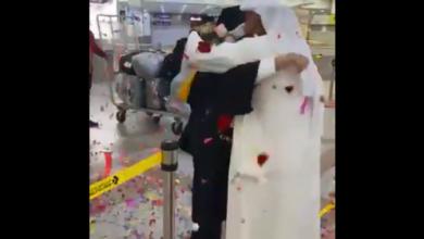 """صورة بطريقة استثنائية.. هكذا احتفل كويتي بتخرج ابنته """"فيديو"""""""