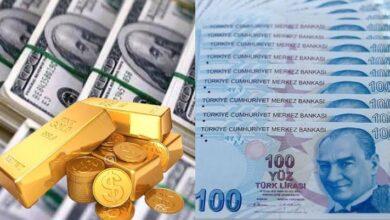 صورة تحسن طفيف في سعر الليرة التركية واستقرار في أسعار الذهب في تركيا اليوم الاربعاء7 ـ 07