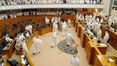 """صورة تحت قبة البرلمان.. نواب كويتيون يتشـ.ـابكون بالأيدي """"شاهد"""""""