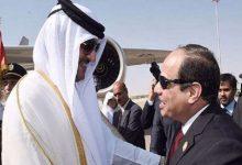صورة رسمياً: السيسي يدعو أمير قطر لزيارة مصر في أقرب فرصة
