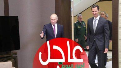 صورة أوامر عليا تصل إلى بشار الأسد من بوتين عن طريق شخصية محورية وعلى الأسد السمع والطاعة