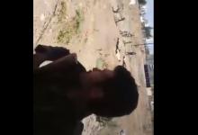 """صورة حزب الله يهب لتحرير فلسطين بدءاً من درعا وضابط أسدي يفتخر بقصف المدنيين في درعا """"فيديو"""""""
