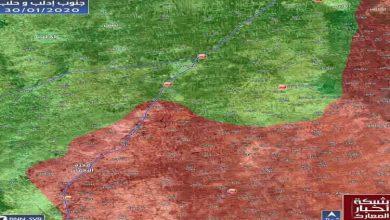 صورة المقـ.ـاومة السورية تطلق المبـ.ـادرة وتبدأ الد.ك جنوب إدلب