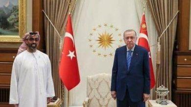 صورة بعد قطيـ.ـعة سنوات… مسؤول إماراتي كبير في أنقرة.. ما الرسالة التي يحملها لأردوغان
