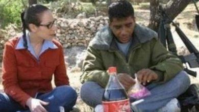 """صورة جعلت من نفسها د.رعاً حامياً له.. أحبته.. """"تالية"""" التي واجهت دولتها إسرائيل لأجل الزبيدي"""